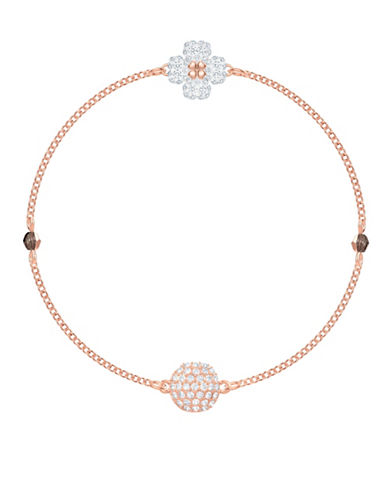 Swarovski Swarovski Remix Pavé Crystal Strand Bracelet-ROSE GOLD-One Size