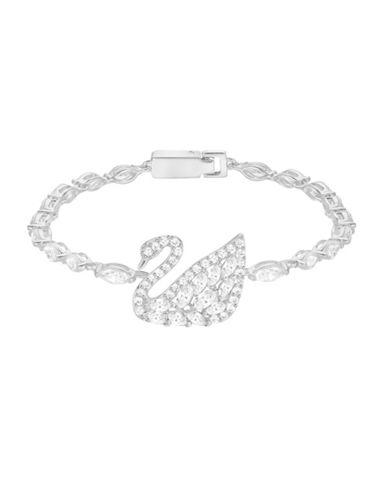 Swarovski Swan Lake Bracelet-SILVER-One Size