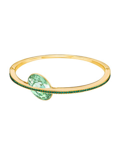 Swarovski Land of Hope Bangle Bracelet-GREEN-One Size