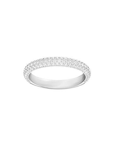 Swarovski Stone Crystal Mini Ring-SILVER-6