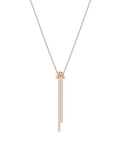 Swarovski Lifelong Crystal Knot Y-Necklace-ASSORTED-One Size