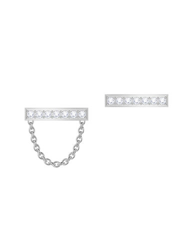 Swarovski Vittore Crystal Stud Earrings-SILVER-One Size