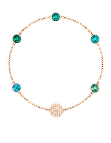 Swarovski Swarovski Remix Pavé Crystal Strand Bracelet-GREEN-One Size