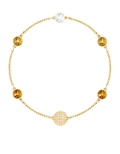 Swarovski Swarovski Remix Pavé Crystal Strand Bracelet-YELLOW-One Size