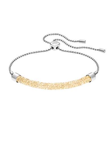 Swarovski Long Beach Crystal Bracelet-YELLOW-One Size