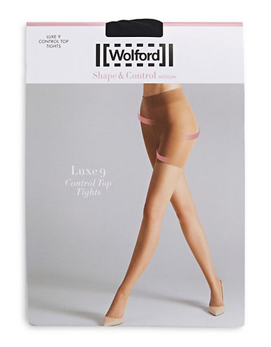 Wolford Luxe 9 Control Top Tights 90131281
