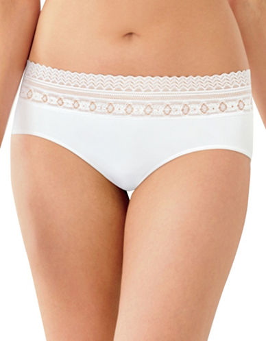 Bali Comfort Revolution Lace Hipsters-WHITE-X-Large
