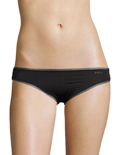 Dkny Litewear Bikini Briefs-BLACK-Medium