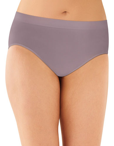 Bali Smooth Microfibre Hi-Cut Panties-WARM STEEL-Large