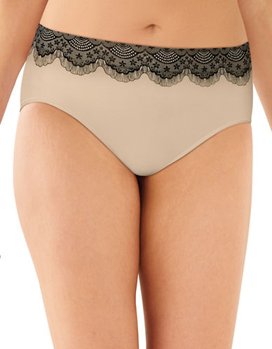 Bali Smooth Microfibre Hi-Cut Panties-NUDE-X-Large