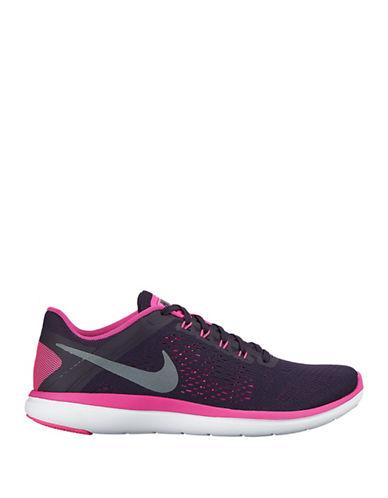 Nike Flex Run Sneakers-BLACK-5 88747837_BLACK_5