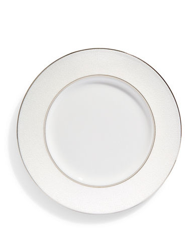 Kate Spade New York Cypress Point Accent Plate-WHITE-One Size