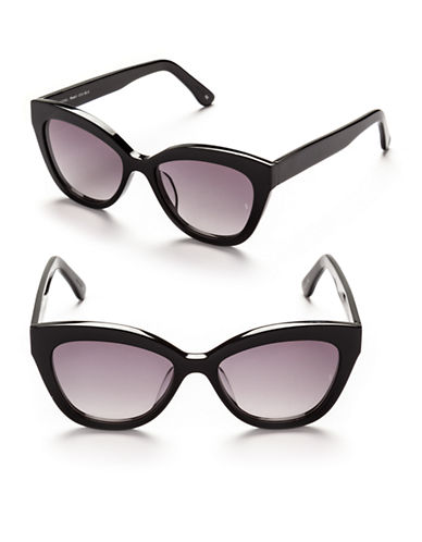 Sunday Somewhere Pearl 54mm Cat-Eye Sunglasses-BLACK-One Size