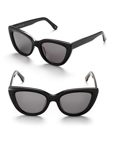 Sunday Somewhere Laura 54mm Cat-Eye Sunglasses-BLACK-One Size