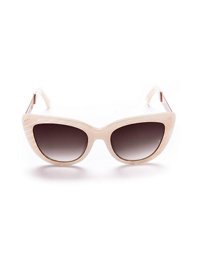 Sunday Somewhere Pearl 54mm Cat-Eye Sunglasses-MARBLE TORTOISE-One Size