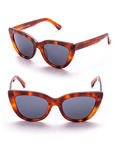 Sunday Somewhere Laura 54mm Cat-Eye Sunglasses-CHOCOLATE TORTOISE-One Size