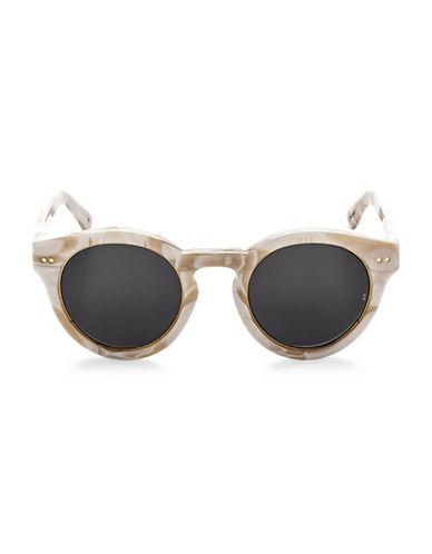 Sunday Somewhere Kiteys 49MM Cat-Eye Frame Sunglasses-BEIGE-One Size