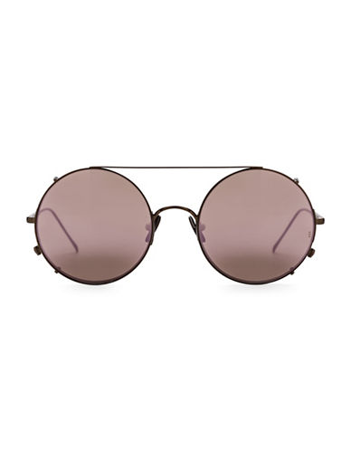 Sunday Somewhere Valentine 53mm Round Sunglasses-PINK-One Size