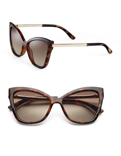 Le Specs Naked Eyes 70mm Cat-Eye Sunglasses-MILKY TORTOISE-One Size