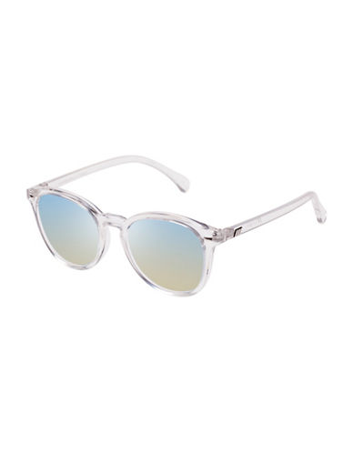 Le Specs Bandwagon LTD 51mm Square Sunglasses-SILVER-One Size
