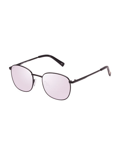 Le Specs Neptune 49mm Aviator Sunglasses-BLACK-One Size