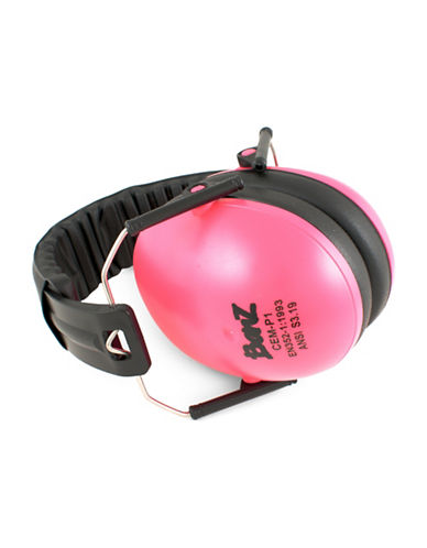 Banz Two-Tone Compact Earmuffs-PINK-One Size