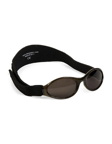 Banz Adventure Baby Sunglasses for Ages 0-2 Years-BLACK-One Size