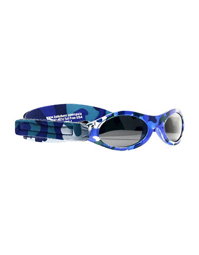 Banz Adventure Baby Sunglasses for Ages 0-2 Years-DARK BLUE-One Size