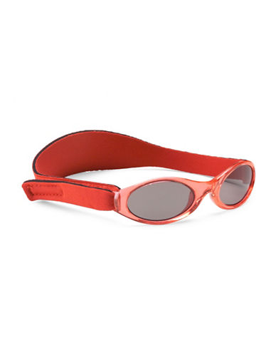 Banz Adventure Kidz Sunglasses for Ages 2-5 Years-RED-One Size