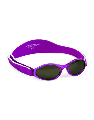 Banz Adventure Kidz Sunglasses for Ages 2-5 Years-PURPLE-One Size