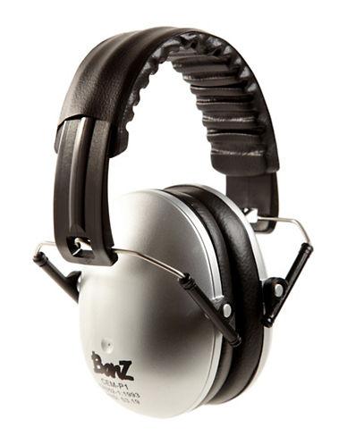 Banz Two-Tone Compact Earmuffs-SILVER-One Size