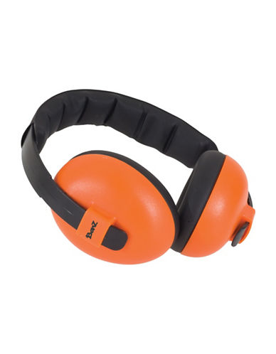 Banz Two-Tone Mini Earmuffs-ORANGE-One Size