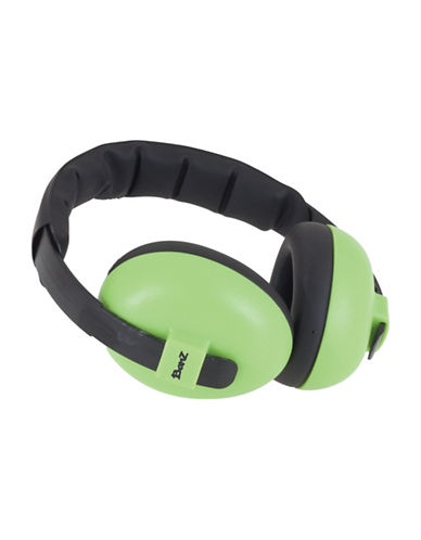 Banz Two-Tone Mini Earmuffs-LIME-One Size
