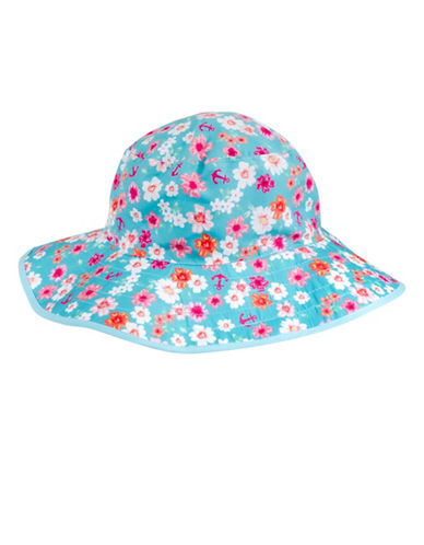 Banz Floral Bucket Hat Baby-PINK-One Size