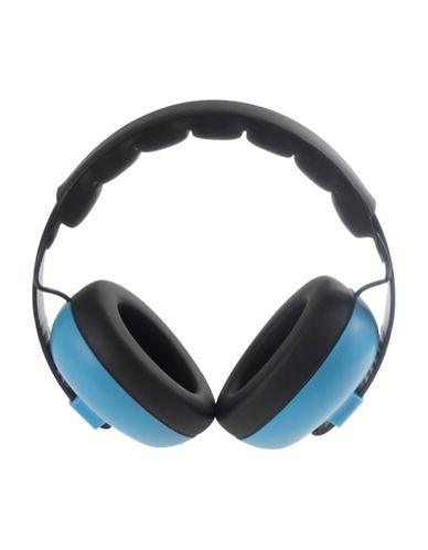 Banz Two-Tone Rechargeable Mini Earmuffs-BLUE-One Size