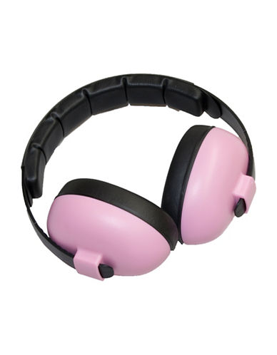Banz Two-Tone Rechargeable Mini Earmuffs-PINK-One Size