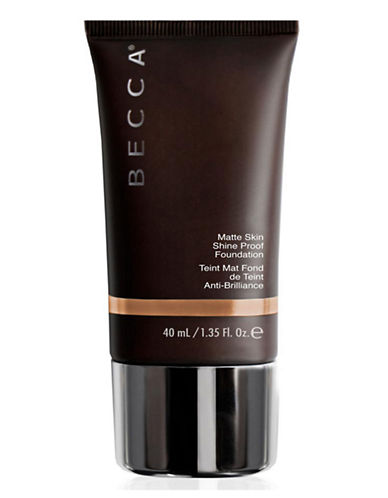 Becca Ever Matte Shine Proof Foundation-AMBER-40 ml