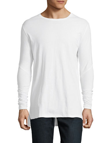 Zanerobe Flintlock Long-Sleeve Cotton Tee-WHITE-Medium