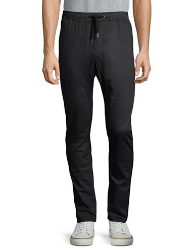 Zanerobe Salerno Drawstring Chinos-BLACK-32