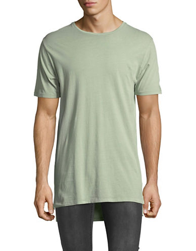 Zanerobe Long-Line Flintlock Tee-GREEN-X-Large