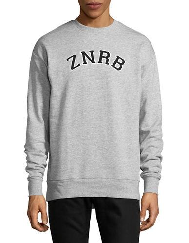 Zanerobe Team Rugger Cotton Sweater-GREY-Medium 89312324_GREY_Medium