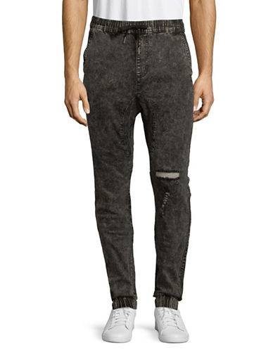 Zanerobe Sureshot Pull-On Jogger Pants-BLACK-38