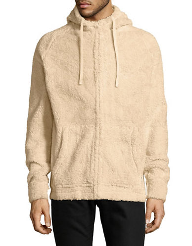 Zanerobe Plush Fleece Hoodie-NATURAL-Medium