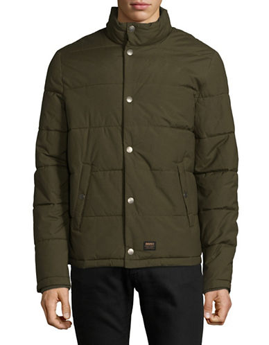 Deus Carson Insulated Jacket-BROWN-Small
