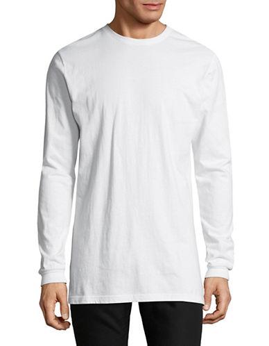 Nana Judy Basic Cotton Shirt-WHITE-X-Large