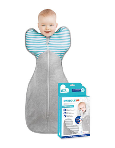 Love To Dream Swaddle Up Quilted Medium Sleep Bag-GREY-S