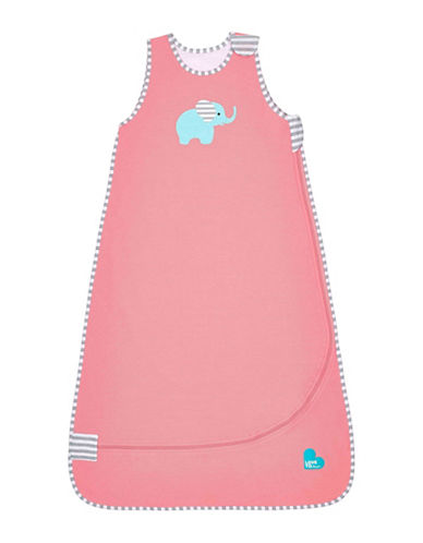 Love To Dream Nuzzlin 1.0 TOG Elephant Sleep Bag-PINK-4-12 Months