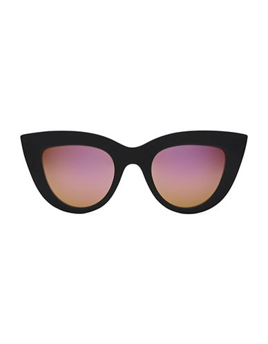 Quay Australia Kitti 145mm Cat Eye Sunglasses-PINK-One Size