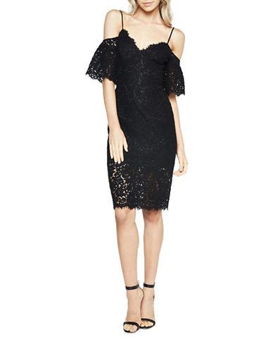 Bardot Karlie Lace Dress-BLACK-Medium