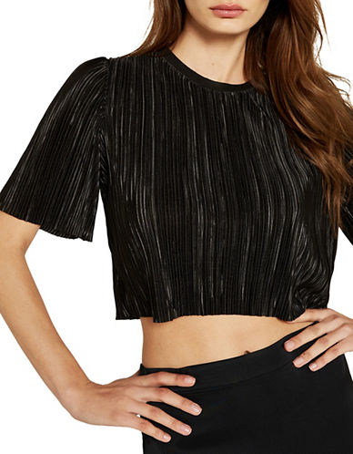 Bardot Penelope Pleat Top-BLACK-Small 89208297_BLACK_Small